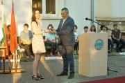 """(СНИМКИ) Випускът на отличниците на ПМГ """"Акад. Никола Обрешков"""""""