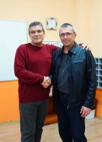 Професор от Софийския университет с лекция в Математическата гимназия